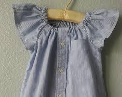 girls chambray dress etsy