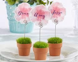 flower pot favors garden favors mini flower pots set of 6