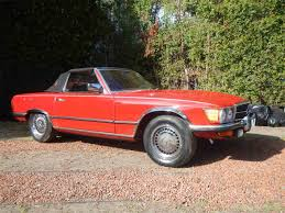 classic red mercedes 1972 mercedes benz 350sl for sale classiccars com cc 930382
