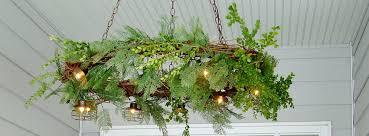 grapevine wreath chandelier u2014 urban cottage living