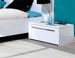 High Gloss Side Table Side Table Wesley High Gloss White Bedside Night Table