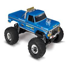 Traxxas 1 10 Bigfoot 1 The Original Monster Truck Blue