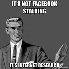 Your Crazy Meme - what is your crazy stalking story when you had crush on someone