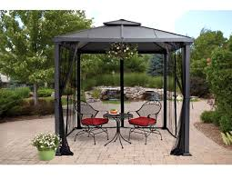 Metal Gazebos And Pergolas by Pros And Cons Of Gazebo With Metal Roof Gazebo Ideas