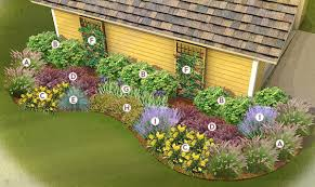 Shady Backyard Ideas by Shade Garden Ideas Zone 5 Zones Blooms Summer Or Fall Light To