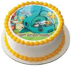 octonauts birthday cake octonauts 2 edible birthday cake or cupcake topper edible prints