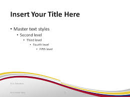 colombia flag powerpoint template presentationgo com