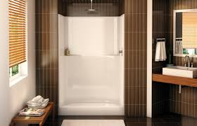 ns 48 alcove shower aker by maax