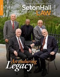 Madeline Leidy Seton Hall Law Fall 2016 Magazine By Seton Hall University