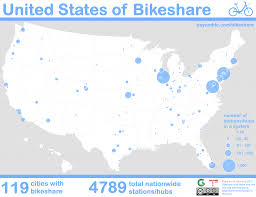 Citibike Map All 119 Us Bikeshare Systems Ranked By Size U2013 Greater Greater