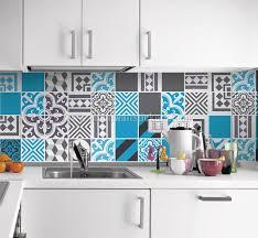 stickers cuisine carrelage credence autocollant cuisine awesome autocollant mural de