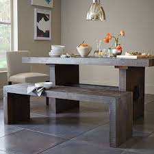 beautiful emmerson reclaimed wood dining table west elm of bench
