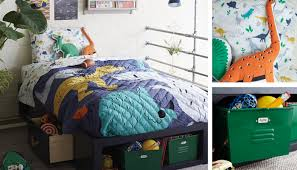 boys dinosaur themed bedroom the land of nod