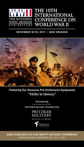 2017 international conference on wwii by the national wwii musuem