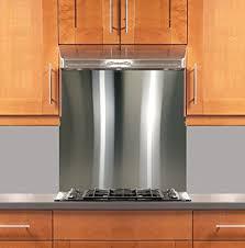kitchen with stainless steel backsplash stainless steel backsplash 24 x 30 304 4 hemmed