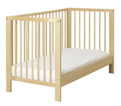 Crib Converts To Bed Non Drop Side Crib Ikea Gulliver Crib Review