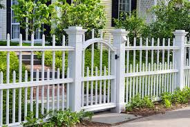 Backyard Fences Ideas Cheap Fencing Ideas White Peiranos Fences Chic But Cheap