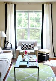 At Home Curtains Remodelaholic 45 Diy Painted Curtain Styles