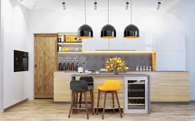 kitchen best yellow kitchen lighting yellow kitchen with cherry