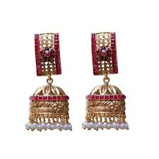 gold jhumka earrings design with price quilling jhumkas price big jhumka earrings indian earrings
