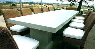 cement table and bench concrete patio table and benches square concrete table and 4 bench