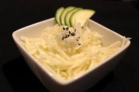comment cuisiner le chou chinois invitations aux voyages culinaires s79 salade de chou japonaise