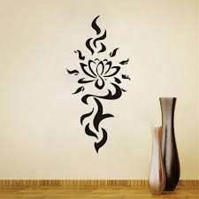 Lotus Flower Wall Decal Om by Online Shop Dctop Wall Decals Yoga Flower Lotus Namaste Decal