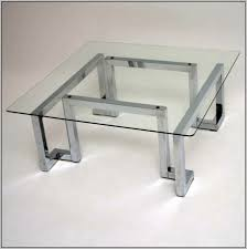 glass chrome coffee table coffee tables thippo