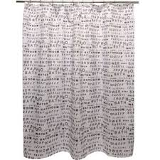Shower Curtains With Quotes Quotes U0026 Sayings Shower Curtains For Less Overstock Com