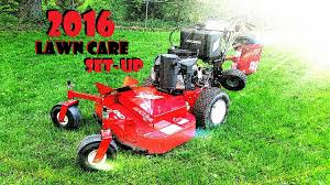lawn care set up 2016 make quick money with small equipment
