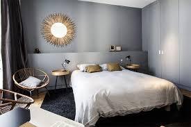 chambre habitat déco salon un bleu gris pour la chambre déco couleur m