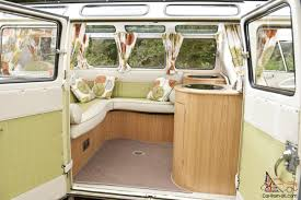 volkswagen camper inside vw camper 1964 21 window samba