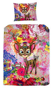 melli mello melli mello colourful children s bedding isabelle with deer 200 x