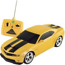camaro rc car amazon com 1 18 scale 2011 chevrolet camaro rs ss yellow w black