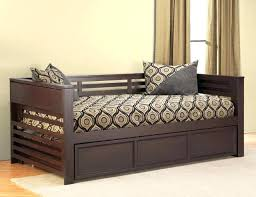 black daybeds with trundle black full size day bed black daybed