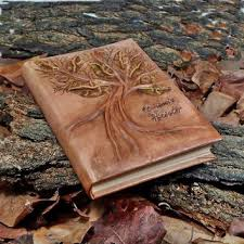 Leather Wedding Guest Book Best Wedding Tree Guest Book On Wood Products On Wanelo