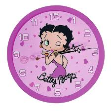 betty boop home decor betty boop neon wall clock images home wall decoration ideas