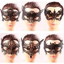 bat mask halloween 2017 black cat catwoman bat batman fox crown lace half face