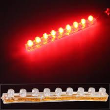 12v Waterproof Led Light Strips by Carchet Led Strip Lights Car Styling Car Motorcycle Red 9 Leds