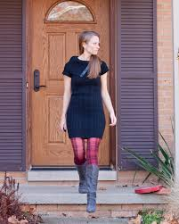 the shopping bag wendy pearl flower studs hue plaid tights black