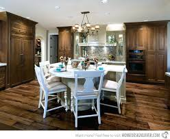 kitchen islands with tables attached island with table attached against with the also wall and dining