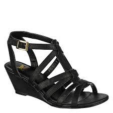 shiekh 137 women u0027s black wedge sandal shiekh shoes