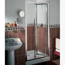 Infold Shower Door by Matki B P M Bathrooms Ltd