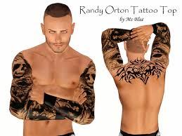ms blue u0027s randy orton tattoo top