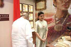 picture 1232931 actress samantha inaugurates nac jewellers