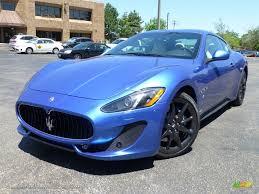 maserati metallic 2014 maserati granturismo sport coupe in blu sofisticato sport