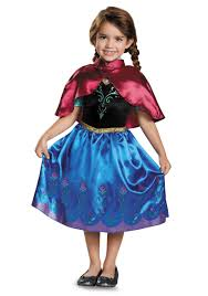 Halloween Frozen Costumes Frozen Traveling Anna Classic Costume Toddler