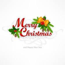 merry christmas tekst hand belettering met goudvink en tak
