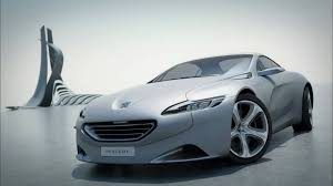 peugeot executive car 2010 paris motor show the peugeot sr1 concept car clip youtube
