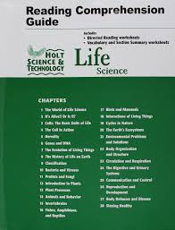 amazon com holt science u0026 technology life science reading and